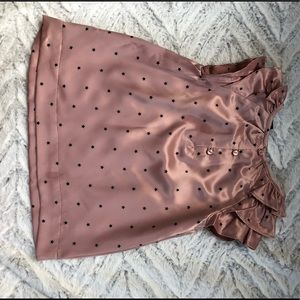 GAP Shirts & Tops - New GAP Silky Blouse with Stars Sz 3T